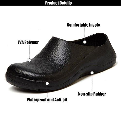 What is the difference between oil-resistant and slip-resistant shoes?
